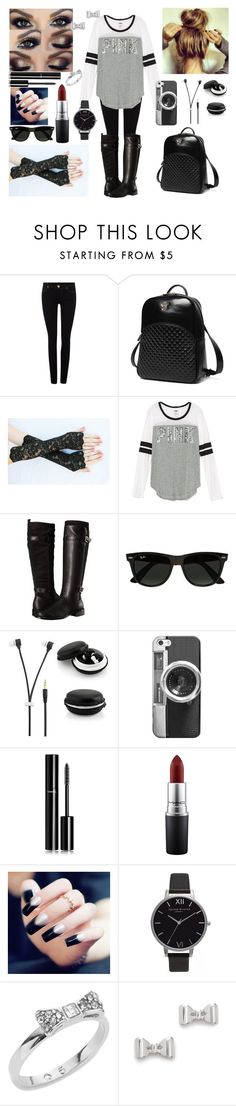 """""""Untitled #591"""" by xxsilentsilverxx ❤ liked on Polyvore featuring True Religion, Princess Carousel, Aerosoles, Ray-Ban, Casetify, Chanel, MAC Cosmetics, Olivia Burton, Kate Spade and Marc by Marc Jacobs"""