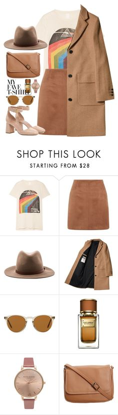 """#182"" by lenabitkina ❤ liked on Polyvore featuring MadeWorn, rag & bone, Oliver Peoples, Dolce&Gabbana, Olivia Burton, CO, RED Valentino and MyFaveTshirt"