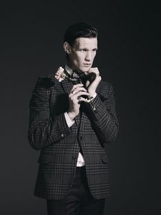 Matt Smith--every time I see his classy/vintage style photos = instant swoon Matt Smith Doctor Who, Robert Smith, British Men, Eleventh Doctor, David Tennant, Dr Who, Stylish Men, Actors & Actresses, Sexy Men