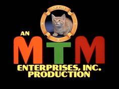 Logo for MTM Enterprises, Mary Tyler Moore's production company.