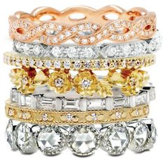 Perfect holiday #giftidea .... add a ring to her band stack.  Lovely diamond rings in all shapes & sizes from Greenwich Jewelers.
