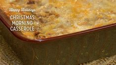 Bring comfort and joy to your family this Christmas morning with this breakfast casserole. The recipe uses white bread, sage, cheddar cheese, eggs and pork breakfast sausage. Paula Deen Breakfast Casserole, Breakfast Cassarole, Christmas Breakfast Casserole, Christmas Morning Breakfast, Sausage Breakfast, Breakfast Dishes, Breakfast Recipes, Egg Cassarole, Cookbook Recipes