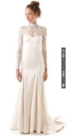 Temperley London Long Grace Bridal Dress | CHECK OUT MORE IDEAS AT WEDDINGPINS.NET | #weddingfashion