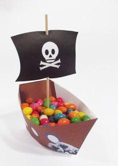 Montagem do Navio Pirata