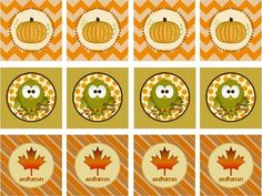 Fall Printables {Freebies} — Celebrations at Home