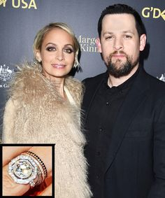 The Most Breathtaking Celebrity Engagement Rings Ever - Nicole Richie and Joel Madden from InStyle.com