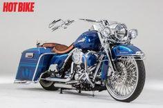 Bound By Blood - A custom 2010 Harley-Davidson Road King