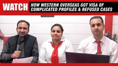 How to get Visa for Complicated Profiles & Refused Cases   Western Overseas Best University, How To Apply, How To Get, Westerns, Profile, Canada, Cases, Student, Education