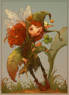 Pixi Picture  (2d, fantasy, character, fairy)