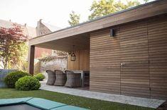 Outdoor Garden Rooms, Backyard Garden Landscape, Garden Spaces, Outdoor Living, Shed Design, Garden Design, Garden Cabins, Garden Architecture, Facade House