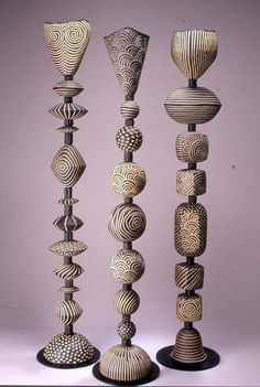 Large Stacked Sculptures