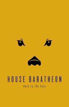 House Baratheon Minimalist Poster