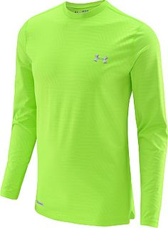 UNDER ARMOUR Men's Evo ColdGear Infrared Printed Long-Sleeve Shirt #giftofsport