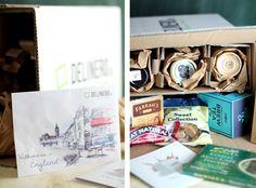 Delinero Box vom Oktober: England