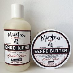 Beard Wash is sulfate free so you can wash your beard as many times a day as you want without it feeling dried out like most soaps and shampoo. Beard Butter hydrates the skin on the chin without an oily residue which clogs the pores and slows the growth. Our Beard Butter also leaves a lightweight product on the beard to help manage and shape and soften. By using both steps you will promote a healthier beard and gain better results in growth.