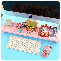 Creative Office Organizer DIY Plastic Storage Box Office Accessories Desk Organizer Stationery Holder Rack-in Storage Boxes & Bins from Home & Garden on Aliexpress.com | Alibaba Group
