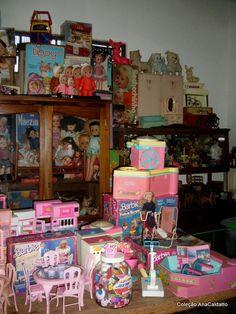 Ana Caldatto : Meu acervo de Bonecas e Brinquedos antigos
