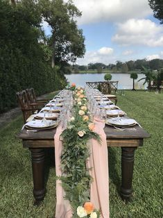 Here at The Garland Guy we specialize in Wedding Garlands, Fresh Cut Foliage, Wreaths. Beautiful custom pieces of Décor are one click away! Eucalyptus Garland, Seeded Eucalyptus, Intimate Wedding Ceremony, Wedding Reception, Garland Wedding, Wedding Decorations, Sage Green Wedding, Outside Wedding, Holiday Tables