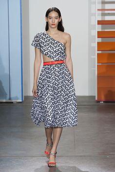 Défilé Tanya Taylor, prêt-à-porter printemps-été 2015, New York. #NYFW #Fashionweek #runway