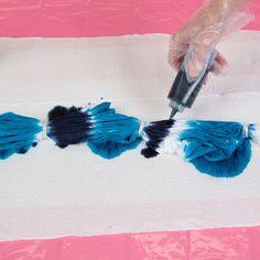 Shimmer Heart Tie-Dye Tee | iLoveToCreate