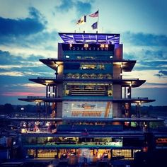 Sunrise over Indy. Indianapolis Motor Speedway is ready for the 100th running of the Indy 500. by sportscenter