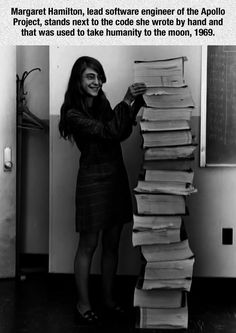 The Great Margaret Hamilton Hamilton's work prevented an abort of the Apollo 11 Moon landing