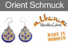 www. Drop Earrings, How To Make, Jewelry, Moroccan Jewelry, Morocco, Craft Items, Silver, Jewlery, Bijoux