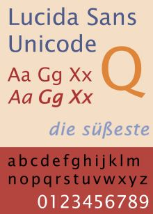 Lucida Sans Unicode - Wikipedia, the free encyclopedia