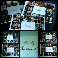 Will you be my bridesmaid card! I loved opening mine!! Awwww :)