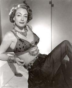 Joan Crawford wearing Joseff Hollywood Jewelry