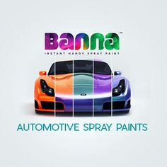Automotive Spray Paints Banna range of Automotive Spray Paints offers you the power of painting, Repairing and Restoring your bike or car on your own.