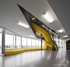 Futuristic Interior Design, Centre de foire de Sherbrooke © Stéphane Groleau 2011, Modern Architecture, Minimalistic, Modern Building