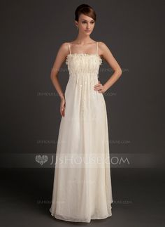 Holiday Dresses - $136.69 - A-Line/Princess Floor-Length Chiffon Holiday Dress With Ruffle Beading Flower(s) (020015508) http://jjshouse.com/A-Line-Princess-Floor-Length-Chiffon-Holiday-Dress-With-Ruffle-Beading-Flower-S-020015508-g15508?ver=xdegc7h0
