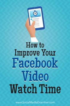 Does your business use Facebook video?  Do you want more people to watch your videos all the way through?  In this article, youll discover how to set up a Facebook ad campaign that generates longer Facebook video watch times. #socialmedia #socialmediama