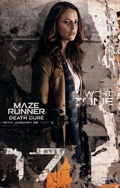 Official character posters for the Death Cure movie - Teresa
