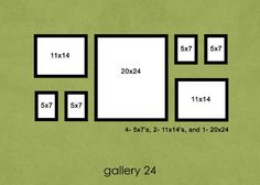 Wall photo layout ideas for hanging