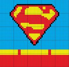 Superman Inspired Uniform 50 x 50 C2C Graph Graphgan                                                                                                                                                                                 More