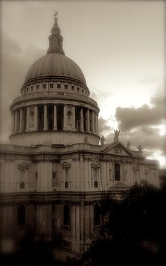 St Pauls Cathedral Photograph  by John Colley http://fineartamerica.com/featured/st-pauls-cathedral-john-colley.html
