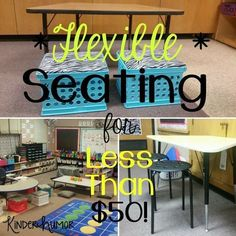 Flexible Seating for UNDER $50!!