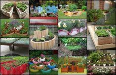 20 Unique & Fun Raised Garden Bed Ideas
