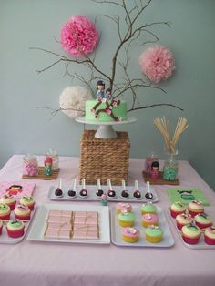 "Photo 1 of 12: Japanese / Birthday ""Japanese Themed Dessert Table"" 