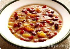 Суп из консервированной фасоли диетический