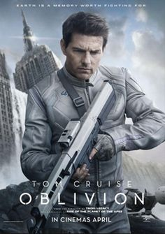 Oblivion trailer and poster. New trailer and poster for Oblivion starring Tom Cruise, Olga Kurylenko, Morgan Freeman, and Andrea Riseborough. Oblivion 2013, Oblivion Movie, Films Hd, Hd Movies, Movies Online, Movies And Tv Shows, Tom Cruise, Love Movie, Action Movies