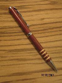 hand turned hurricane pen