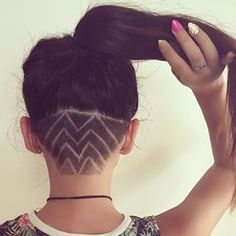 Estos patrones puntiagudos. | Estos diseños geniales para el cabello le darán nueva vida a tu cola de caballo