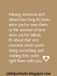 Yes! Coz I miss a few people right after I leave them.