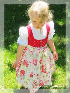 made by lisamona . Dirndl Dress, Dress Up, American Girl, Baby Dress Patterns, Baby Costumes, Traditional Outfits, Clothing Patterns, Girl Fashion, Summer Outfits