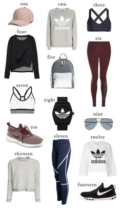 Fitness/Athleisure Pieces you need ASAP Athletic Outfits, Athletic Wear, Sport Outfits, Gym Outfits, Fitness Outfits, Fall Workout Outfits, Athletic Clothes, Athleisure Fashion, Athleisure Outfits