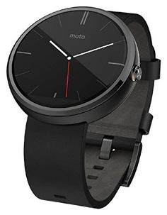 *NEW* Motorola Moto 360 Smart Watch Smartwatch Black Leather Android Wear Android Wear, Android Watch, Best Android, Android 4, Android Smartphone, Best Smart Watches, Cool Watches, Watches For Men, Gps Watches