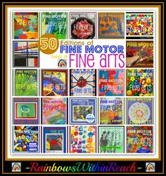 Tons of Fine Motor ideas! Sign-in systems. RainbowsWithinReach